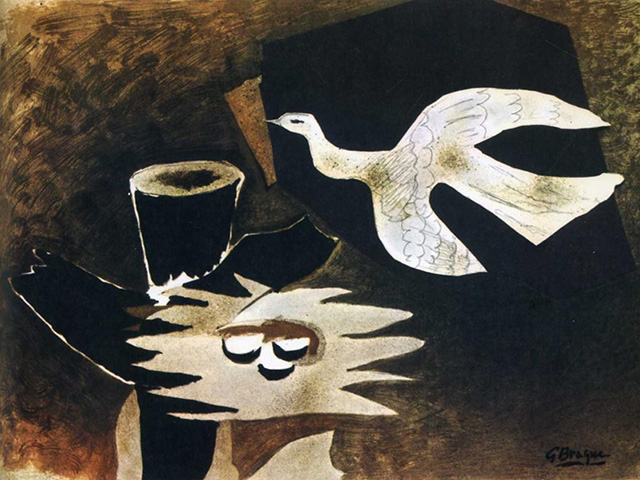Bird Returning to it's Nest - Georges Braque, 1956