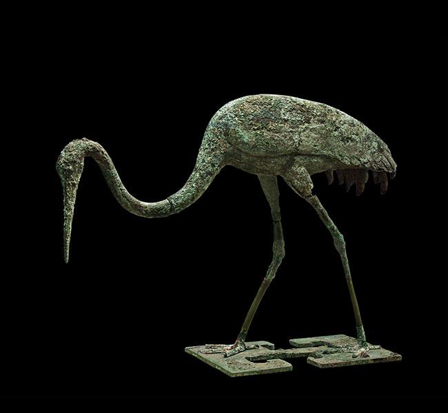 Crane -  Bronze