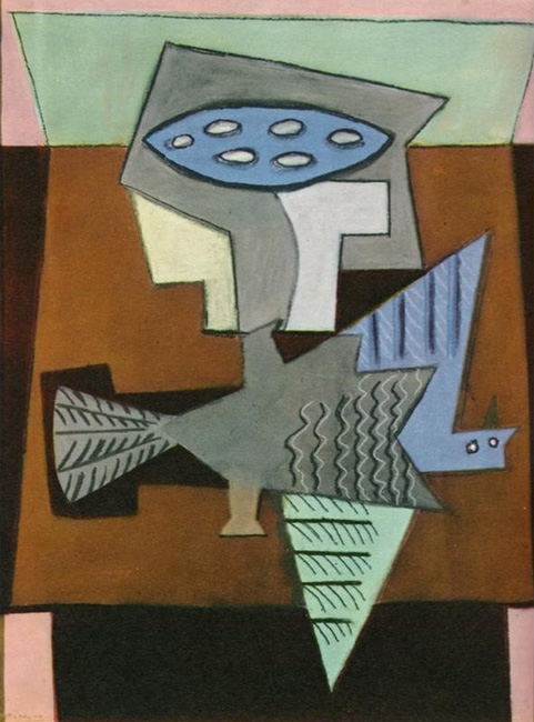 Wounded bird - Pablo Picasso, c.1921